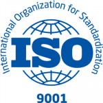 We are an ISO 9001 certified company.